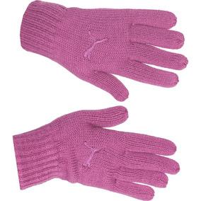Guantes Puma Mujer Rosa Fundamentals Knit Gloves 04086204