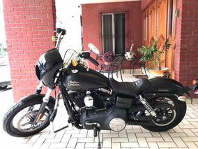 Harley-davidson Dyna Super Glide 2017 Nacional Impecable Nue