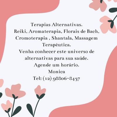 Terapias Alternativas, Florais De Bach, Massagem,arteterapia