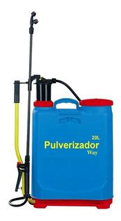 Pulverizador Manual 20 Litros Inseticida Limpeza Umidifica