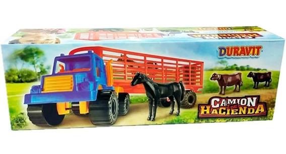 Camion De Hacienda Transporte De Animales Duravit 216