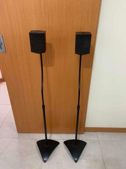 2 Caixas LG Surround Com Fiação E Pedestal Incluído