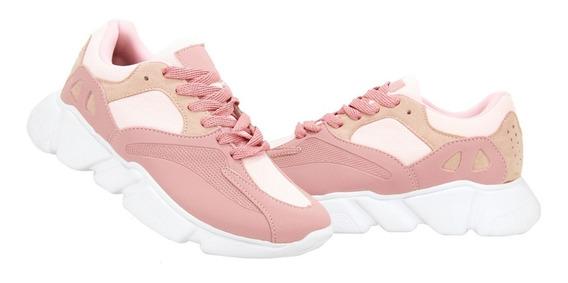 Tenis Chunky Feminino Sneaker Colorido Lançamento Nesk