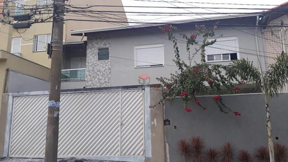 Sobrado À Venda, 3 Quartos, 3 Vagas, Jardim - Santo André/sp - 74959