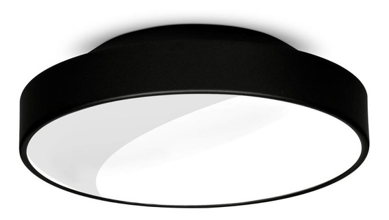 Plafon De Sobrepor Redondo Para 2 Lâmpadas Isadora Fiwt