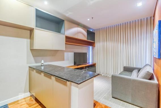 Apartamento No 2º Andar Mobiliado Com 1 Dormitório E 1 Garagem - Id: 892946348 - 246348