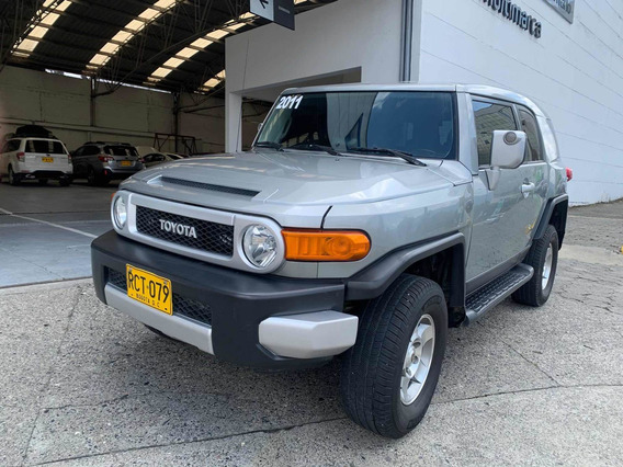 Toyota Fj Cruiser 4x4 At Gasolina Mod 2011