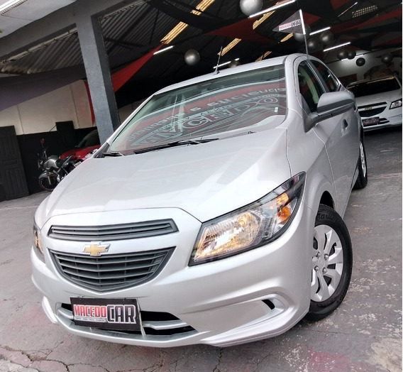 Chevrolet Onix 1.0 Joy 2019 Prata