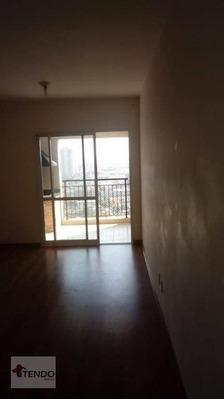 Apartamento 70 M² - 2 Dormitórios - 1 Suíte - Independência - São Bernardo Do Campo/sp - Ap0772
