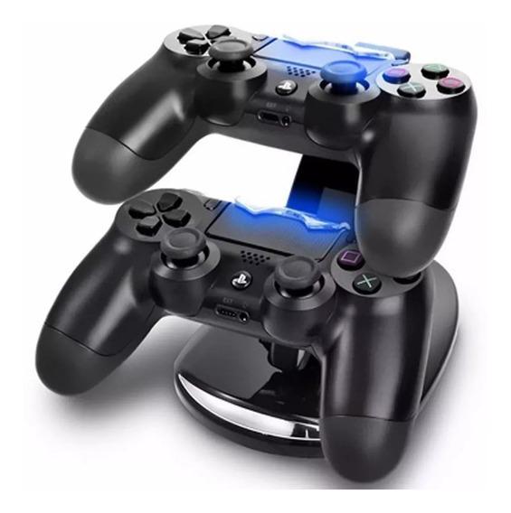 Base Carregador Duplo Arcade P Controle Playstation Ps4