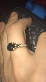 Anel Solitario Em Ouro 18k E Diamantenegro1 K De15000por6mil