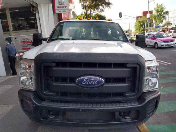 Ford F 350 2016 2p Chasis Xl V8/6.2 Aut