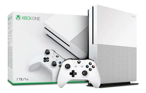 Consola Xbox One S De 1tb Blanco