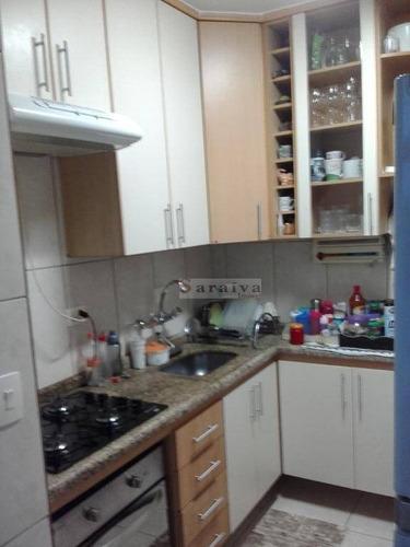 Apartamento Com 2 Dormitórios À Venda, 62 M² Por R$ 220.000,00 - Alves Dias - São Bernardo Do Campo/sp - Ap3539