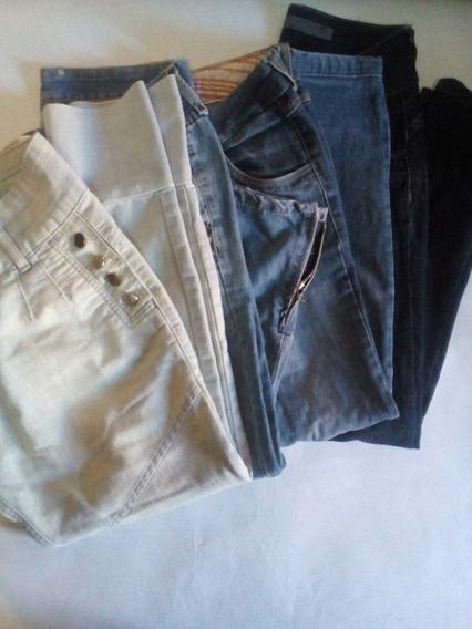 Lote Calça Jeans Feminina 38/40
