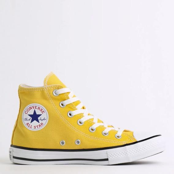 Tenis Converse Chuck Taylor All Star Amarelo Vivo Ct04190034