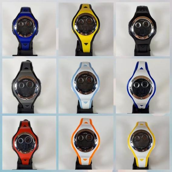 Relógio Digital Infantil Atacado Kit15 Unidade Esporte