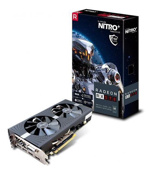 Sapphire Radeon Nitro+ Rx 570 4gb Gddr5 Dual Hdmi/dvi-d/dual