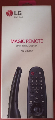 Control Mágic An-mr650a LG Smart Tv