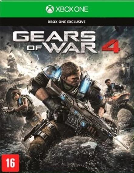 Gears Of War 4 - Xbox One - Midia Fisica - Novo - Português