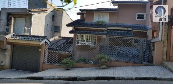 Sobrado Residencial À Venda, Nova Caieiras, Caieiras. - So2119