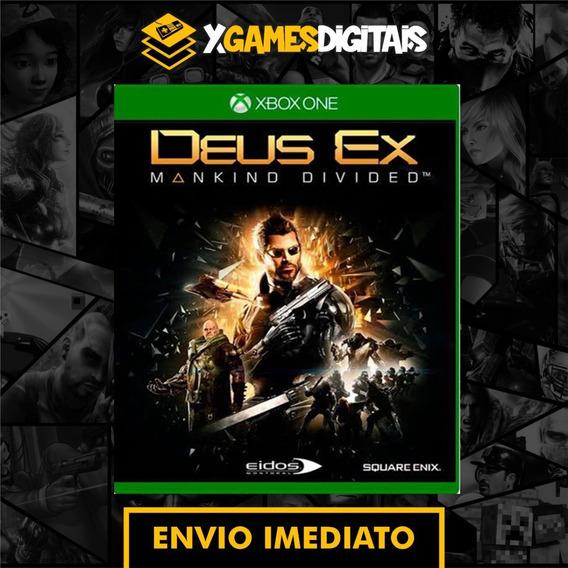 Deus Ex Xbox One Midia Digital + 1 Jogo Grátis