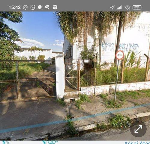 Imagem 1 de 2 de Terreno Para Alugar, 2392 M² Por R$ 10.000,00/mês - Vila América - Santo André/sp - Te0464