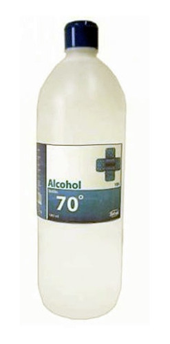Alcohol Isopropilico Al 70% 1 Litro Antibacterial Todobarato