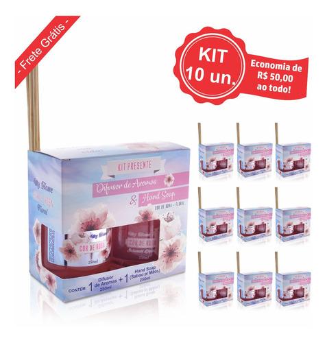 Kit Presente Sabonte + Difusor My Home (10un.)