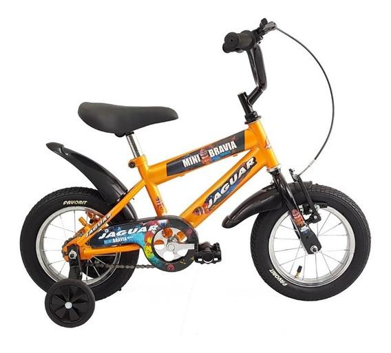 Bicicleta Infantil Niño Rodada 12 Llantas Inflables