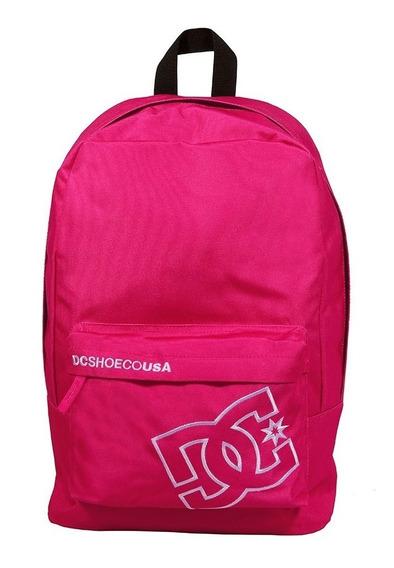 Mochila Dc Shoe Escolar Color Rosa