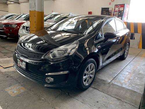 Imagen 1 de 13 de Kia Rio 1.6 Lx Sedan Std 6 Vel Ac 2017