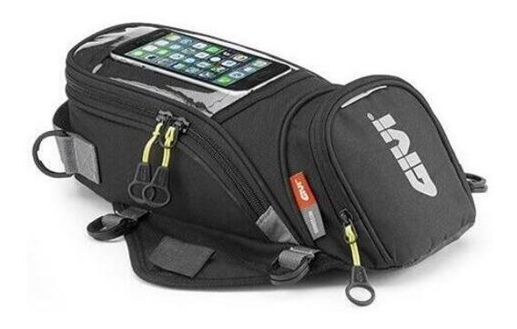 Bolsa Tanque Moto Modelo Givi Magnética Touch Universal Premium