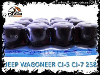 Gomas Valvula Jeep Wagoneer Cj-5 Cj-7 258 232