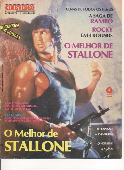 Revista História De Sylvester Stallone 1991 - Raridade!