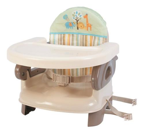 Summer Infant Deluxe Folding Tan Silla Comedor Bebe Portatil