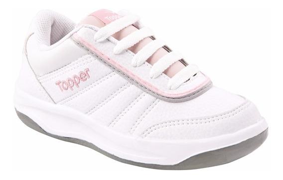 Zapatillas Topper Tenis Tie Break 2 Kids Nene