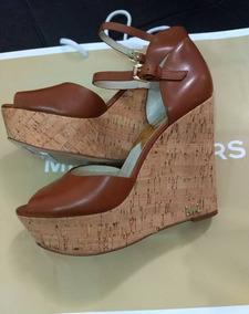 963e510a81 Sapato sandália De Salto Michael Kors Original - Nova
