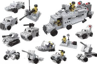 Lego Militar 12 En 1 Ww2 Juguetes Niños 381pcs Legos 23059