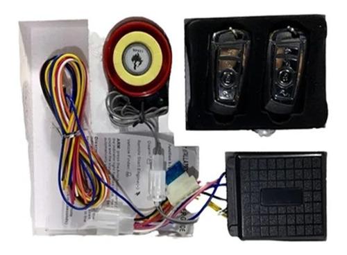 Imagen 1 de 4 de Alarma Para Moto, Con Control Remoto Para 12v Control Remoto