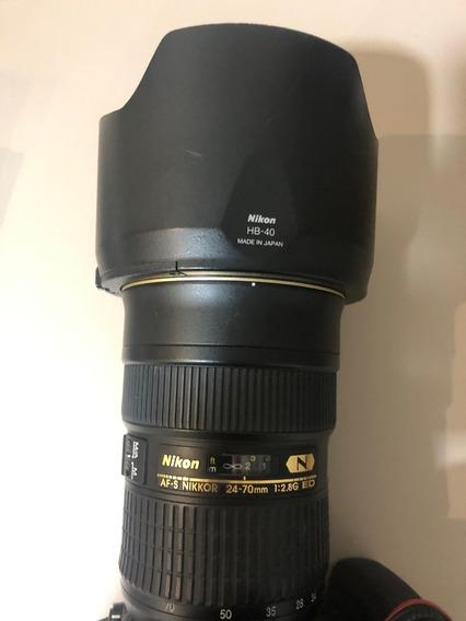 Lente Nikon 24-70 2.8 Adf-s Ed Nano