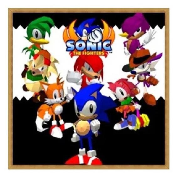 Sonic The Fighters Ps3 Psn Jogo Envio Já