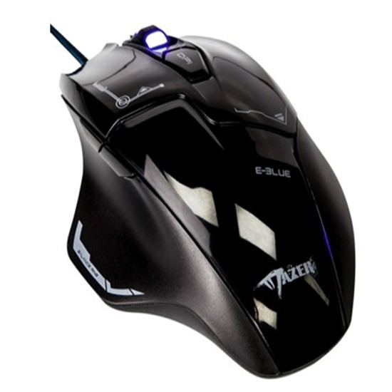 Mouse Gamer E-blue Mazer M642 Advance 2500dpi Gaming Preto
