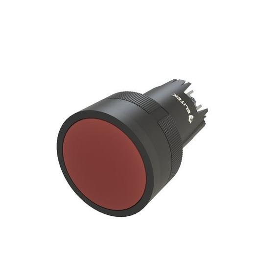 Botão Pulsador Vermelho - Kit Com 10 Peças
