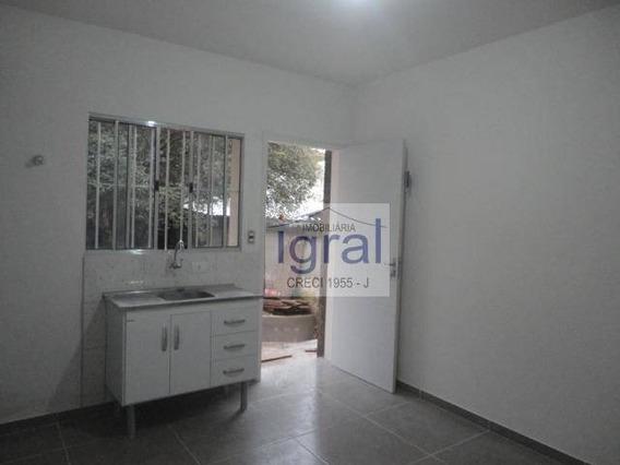 Casa Com 1 Dormitório Para Alugar, 30 M² Por R$ 1.100,00/mês - Vila Guarani (zona Sul) - São Paulo/sp - Ca0423