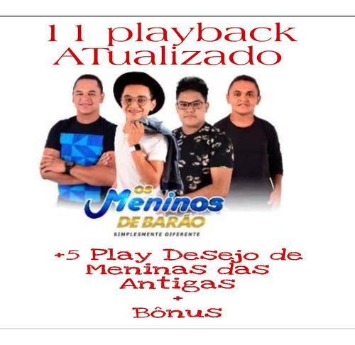 Imagem 1 de 1 de Playback Meninos De Barao E Desejo De Menina +bônus