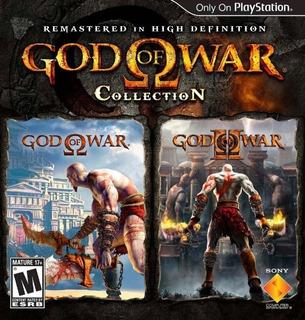 God Of War Collection Ps3 | Digital Español Incluye 2 Juegos