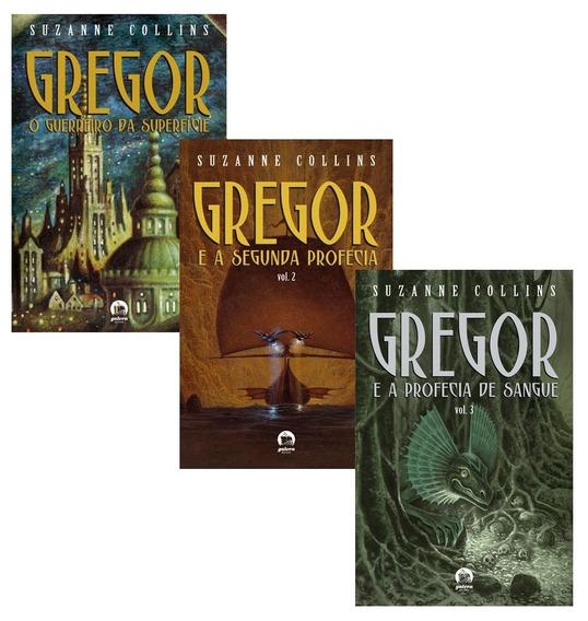 Livro - As Crônicas De Gregor - Vol.1 Vol.2 Vol.3 - 3 Livros