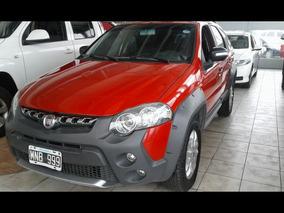 Fiat Palio Weekend Adventure 1.6 16 2013 Color Rojo
