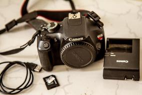 Câmera Digital Canon Eos Rebel T5 Preta 18mp, Lcd 3.0